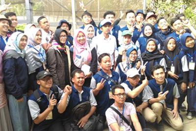 Sharing tentang Hydroponic terhadap siswa didik Balai besar Pelatihan Pertanian Lembang