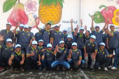 Pelatihan Kelompok Tani Oleh Taiwan Technical Mission, BBPP Lembang, dan Dinas Pertanian kabupaten Bandung Barat selama 15 Hari